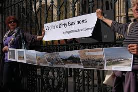 veolia si e social dump veolia protest at the history museum
