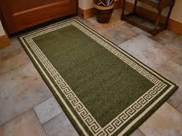 non slip kitchen mats light green washable non slip kitchen