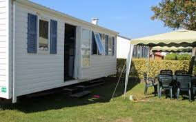Mobile home rental rates campsite Pornic Brittany
