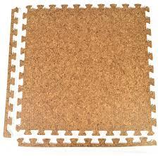 24 x24 wood grain and cork interlocking foam floor tiles set of