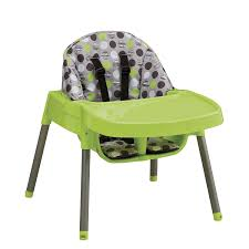 Evenflo Majestic High Chair Seat Cover amazon com evenflo convertible high chair dottie lime