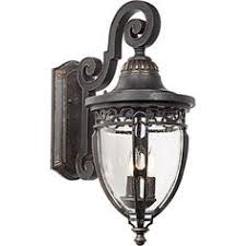 harrison 33 1 2 high black outdoor wall light style u5563
