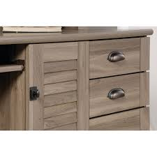 Sauder Harbor View Dresser Salt Oak by Amazon Com Sauder 415109 Salt Oak Finish Harbor View Computer