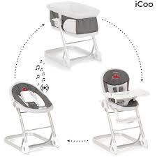 chaise haute transat bébé pas cher jep bois