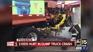 3 Kids Hurt In Dump Truck Crash In Phoenix - YouTube Phoenix Car Accident Lawyer Yes You Need The Best A Horrible Tragedy 2 Teens Dead After Semitruck Rollover What The September 2014 Zachar Law Firm Newsletter Httpwww Passenger Accidents Attorneys Blischak Personal Injury Attorney Arizona Safety Tips For Driving Around Trucks Truck Az Kamper Estrada Llp Motorcycle Trucking Doyle Trial Lawyers Houston How To Find In Get Finish Case Auto