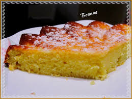 gâteau au yaourt polenta et citron sucrée