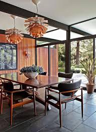 MCM Dining Room From Trendy Midcentury Modern Interior Design