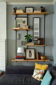 Decorative Wall Shelves Ideas Living Room Shelving Best On