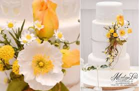 Wildflower Wedding Cake By Madison Lees Cakes