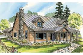 Simple Design Rustic Lodge Style House Plans