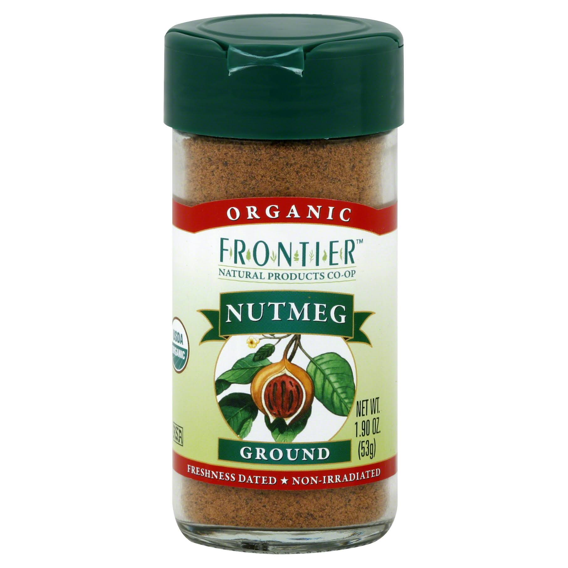 Frontier Organic Ground Nutmeg - 1.9oz