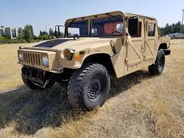 100 Am General Trucks Custom Built Hummer H1 M1113 W 59l Cummins Diesel