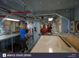 100 Aircraft Carrier Interior Bridge Interior At USS Midway Aircraft Carrier Museum Ship