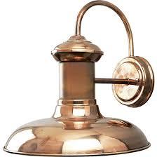 copper light fixtures outdoor home lighting design ideas