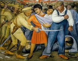 David Alfaro Siqueiros Murales by Jose Antonio Bru Blog El Muralista Diego Rivera La Historia De