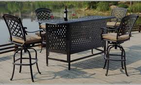 Cheap Patio Bar Ideas by Bar Awesome Outdoor Bar Table And Chairs Awesome Outdoor Bar