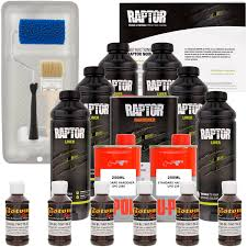 Raptor Dakota Brown Urethane Spray-On Truck Bed Liner Roller,Tray ...