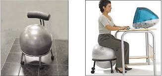 Physio Ball Chair Base by Medicine Ball Chair Yoga Ball Chair For Office Finding Is Your