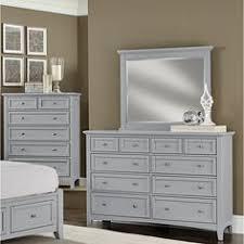 Wayfair Dresser With Mirror by Vaughan Bassett 10 Drawer Dresser With Mirror U0026 Reviews Wayfair
