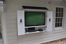 Outdoor TV Cabinet Enclosure Outdoor Furniture Outdoor TV