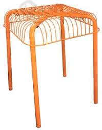 västerön hocker orange außenbereich badezimmer ikea