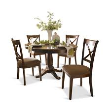 Round Dining Room Set For 4 by Desoto 42 U2033 Round Table With 4 Side Chairs Hom Furniture