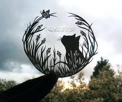 Butterfly Paper Cutting Template Designs Cat And Cut