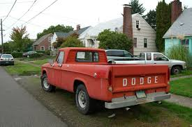 100 67 Dodge Truck OLD PARKED CARS 19 D200