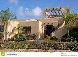 100 Modern Stucco House Stock Image Image Of Cloudscapes 5067763