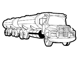 Unique Truck Coloring Pages Nice Colorings Design Gallery