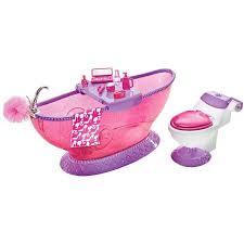 Pink Bathroom Sets Walmart by Barbie Bath To Beauty Bathroom Set Walmart Com