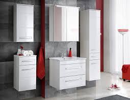 badmöbel set active 60 cm weiss badezimmer mit waschbecken badezimmermöbel led