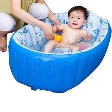 0 3 years inflatable pool anti slippery baby bath tub children