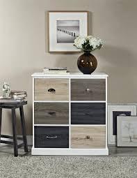 ameriwood furniture mercer 6 door storage cabinet with