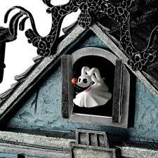 Nightmare Before Christmas Zero Halloween Decorations by The Nightmare Before Christmas Cuckoo Clock Hammacher Schlemmer