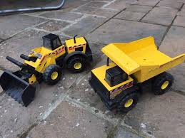 Tonka Steel Front Loader And Steel Classic Mighty Dump Truck | In ...