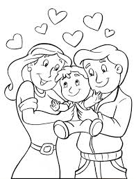 Respect Your Parents Coloring Page