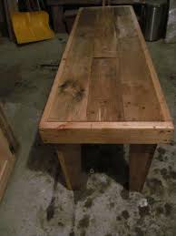 diy rustic yet sturdy pallet bench seat pallet furniture plans