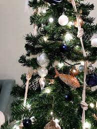 Silvertip Fir Christmas Tree by Coastal Christmas Tree Nautical Themed Christmas Decor