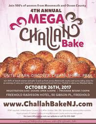 Mega Challah Bake Chabad Lubavitch of Western Monmouth County