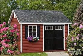 10 12 gambrel shed plans shed plans 10x12 pinterest gambrel