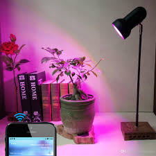 Full Spectrum 10W LED Plant Grow Lights Table Lamp with Smart