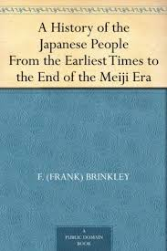 A History Of The Japanese People From Earliest Times To End