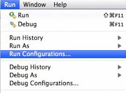 Create Or Select An Existing Configuration For Your Project And Switch To The Common Tab