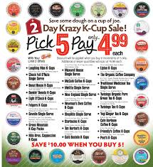 Dunkin Donuts Pumpkin K Cups Amazon by Shoprite 2 Day Sale 11 27 11 28 Only K Cups As Low As 0 23 Per