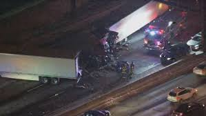100 Truck Accident Chicago Fatal Semi Crash Closes Northbound I55 Near Bolingbrook CBS