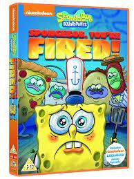 Spongebob Halloween Dvd Episodes by Spongebob Squarepants Spongebob You U0027re Fired Dvd Amazon Co Uk