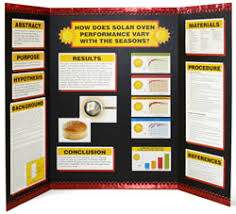 Science Fair Tri Fold Example
