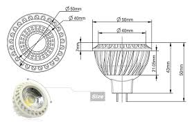 12v 5w cob mr16 led bulb 50w equivalent mr16 spotlight torchstar