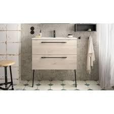 badmöbel set badezimmer möbel schrank 60 cm hänge waschtisch tiefe 35 cm
